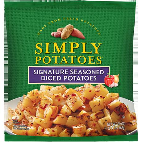 photo of Simply Potatoes Signature Seasoned Diced Potatoes product