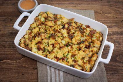 photo of prepared Bacon, Ricotta and Potato Strata recipe