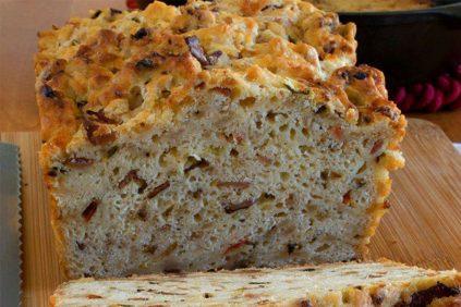 photo of prepared Bacon and Hash Browns Breakfast Bread recipe