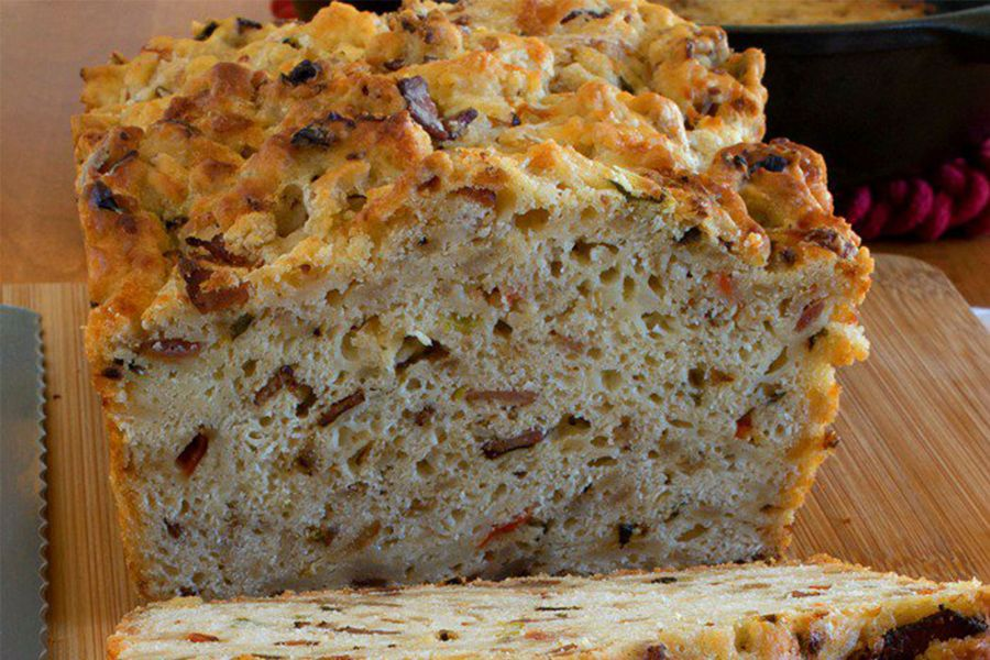 photo of Bacon and Hash Browns Breakfast Bread