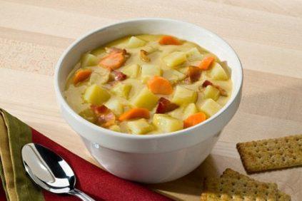 photo of prepared Bacon and Potato Chowder recipe