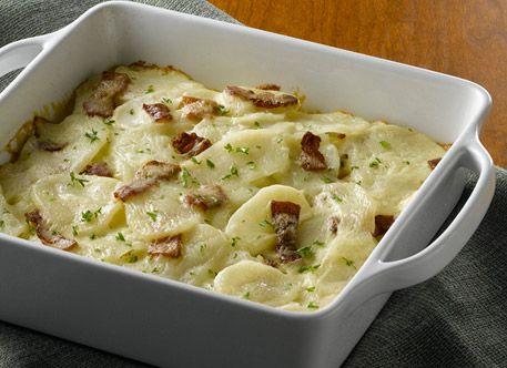 photo of prepared Bacon n' Mustard Scalloped Potatoes recipe