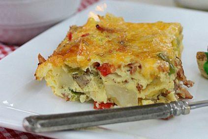 photo of prepared Breakfast Casserole recipe