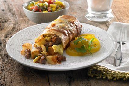 photo of prepared Breakfast Changa recipe