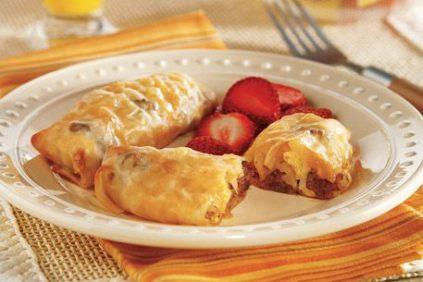 photo of prepared Breakfast Egg Rolls recipe