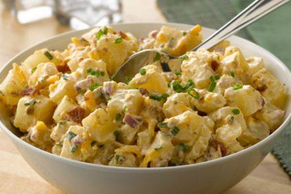 photo of prepared Cheddar & Bacon Potato Salad recipe