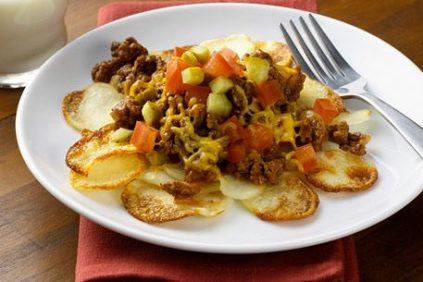 photo of prepared Cheeseburger Potato Casserole recipe