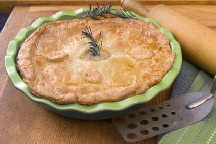 photo of prepared Chicken Pot Pie recipe