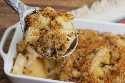 photo of prepared Chicken, Potato, and Cheese Casserole recipe