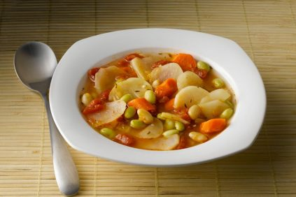 photo of prepared Chunky Potato and Vegetable Soup recipe