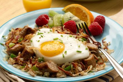 photo of prepared Country Style Chicken Sausage Breakfast Hash recipe