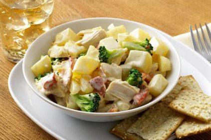 photo of prepared Dijon Chicken Potato Salad recipe