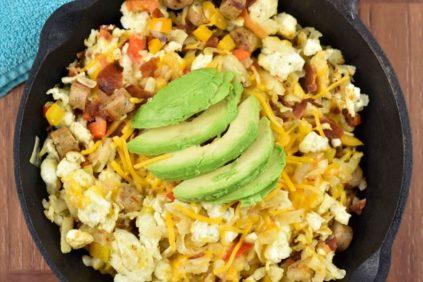 photo of prepared Egg White Breakfast Skillet recipe
