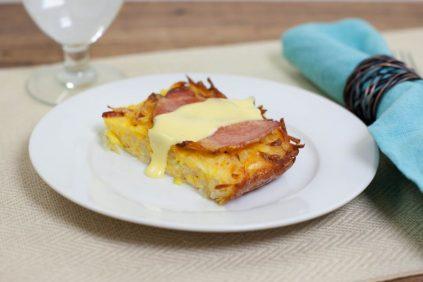 photo of prepared Eggs Benedict Casserole recipe