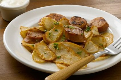 photo of prepared Farmhouse Sausage and Potatoes Skillet recipe
