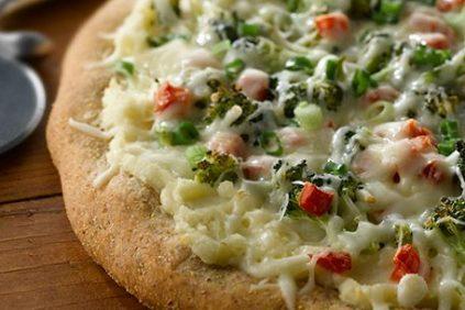 photo of prepared Garlic Mashed Potato Pizza recipe