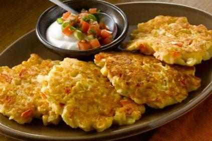 photo of prepared Gluten-free Southwest-Style Potato Pancakes recipe