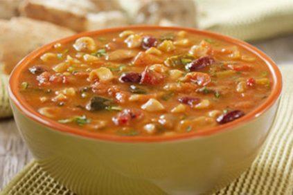 photo of prepared Hearty Potato Minestrone Soup recipe
