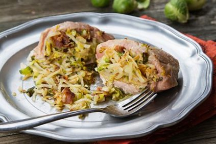 photo of prepared Incredibly Delicious Stuffed Pork Chops recipe