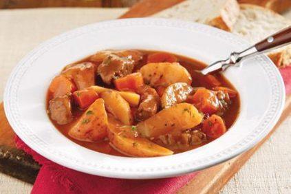 photo of prepared Irish Beef Stew recipe