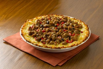 photo of prepared Italian Quiche with Hash Brown Crust recipe
