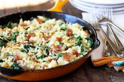 photo of prepared Lightened-Up Breakfast Skillet recipe