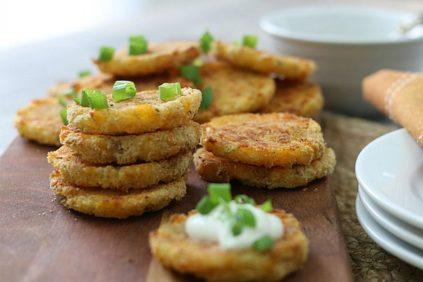 photo of prepared Loaded Mashed Potato Patties recipe