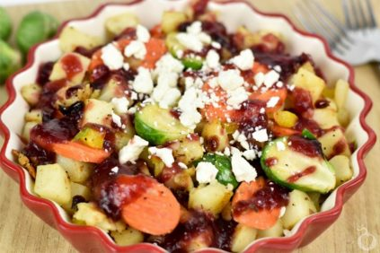 photo of prepared Loaded Potato and Cranberry Skillet recipe