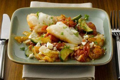 photo of prepared Mediterranean Fish Casserole recipe