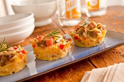 photo of prepared Mini Hashbrown Casseroles recipe