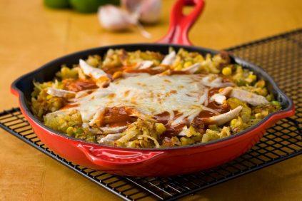 photo of prepared Potato Enchilada Skillet Dinner recipe