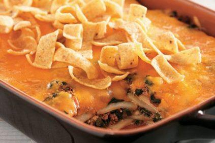 photo of prepared Potato Taco Lasagna recipe