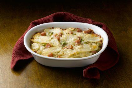 photo of prepared Scalloped Potatoes and Ham recipe