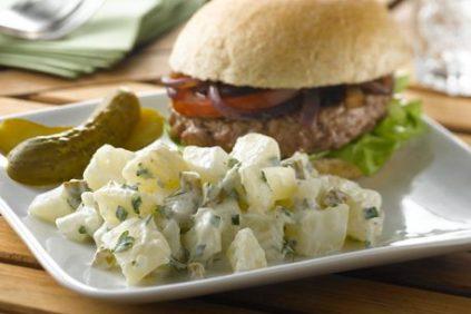 photo of prepared Simply-fied Dill Potato Salad recipe