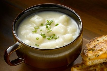 photo of prepared Simply-fied Potato Soup recipe