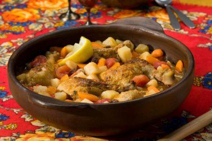 photo of prepared Slow Cooker Moroccan-Style Chicken Potato Stew recipe