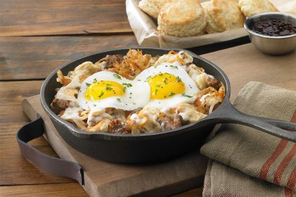 photo of prepared Smothered Hash Browns recipe