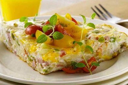 photo of prepared Spanish Omelet with Potatoes and Cheese recipe