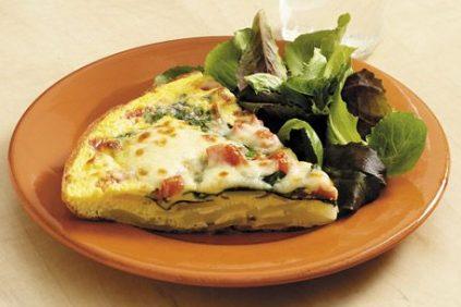 photo of prepared Spinach and Potato Frittata recipe