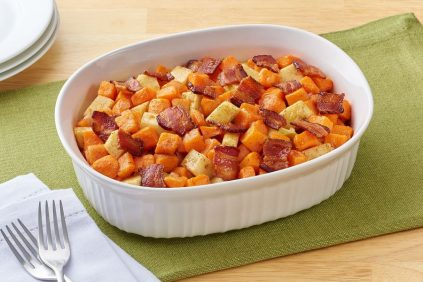 photo of prepared Sweet Potato Casserole with Bacon and Apples recipe