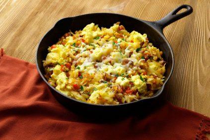 photo of prepared Tex-Mex Egg and Potato Skillet recipe