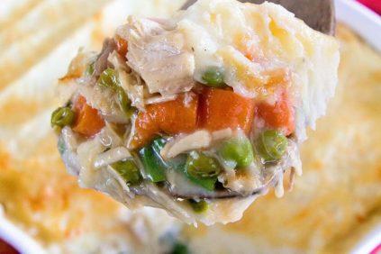 photo of prepared Turkey Shepherd's Pie recipe