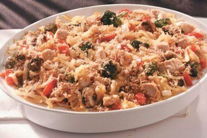 photo of prepared Weeknight Turkey Hash Brown Casserole recipe