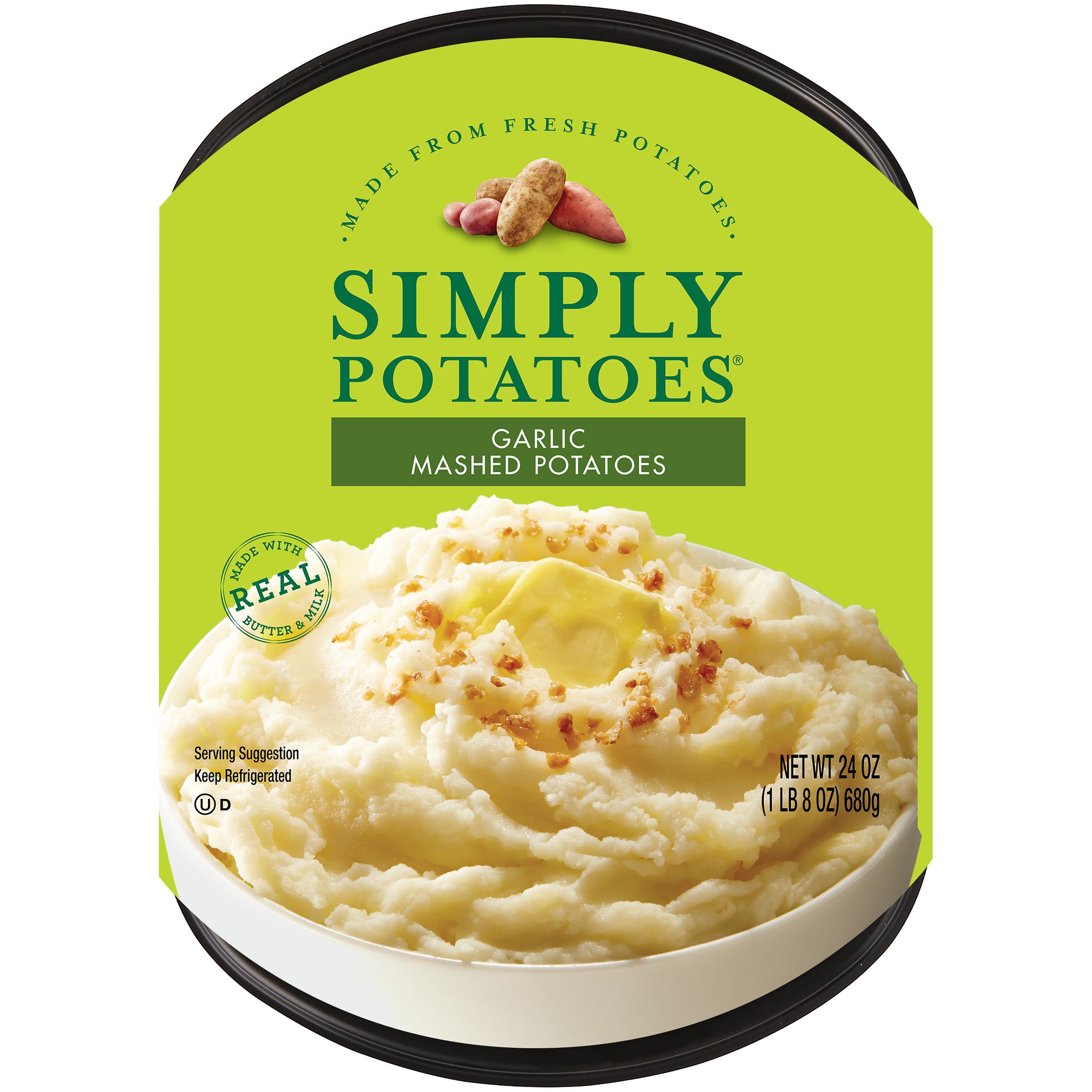 photo of Simply Potatoes Garlic Mashed Potatoes product