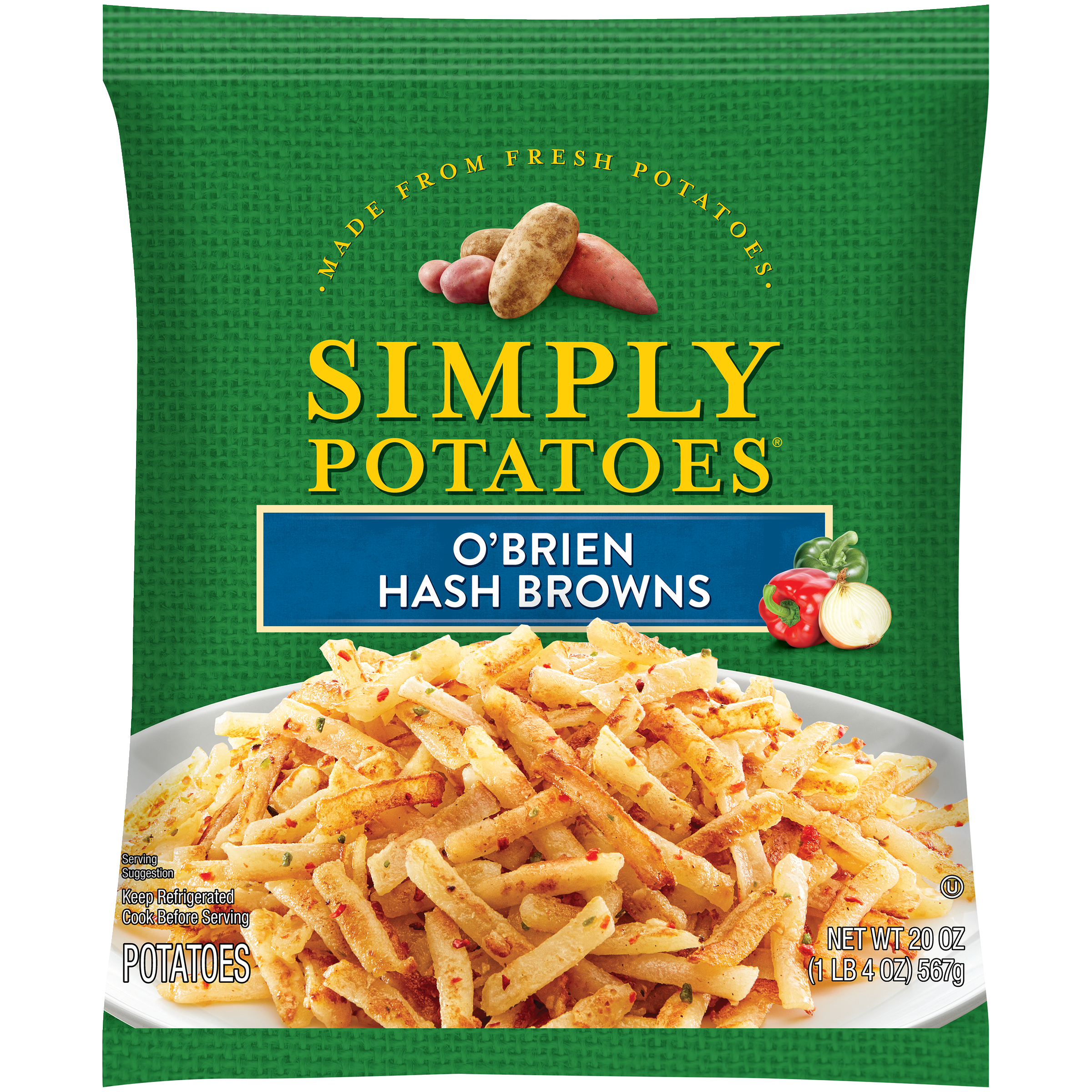 photo of Simply Potatoes O'Brien Hash Browns product