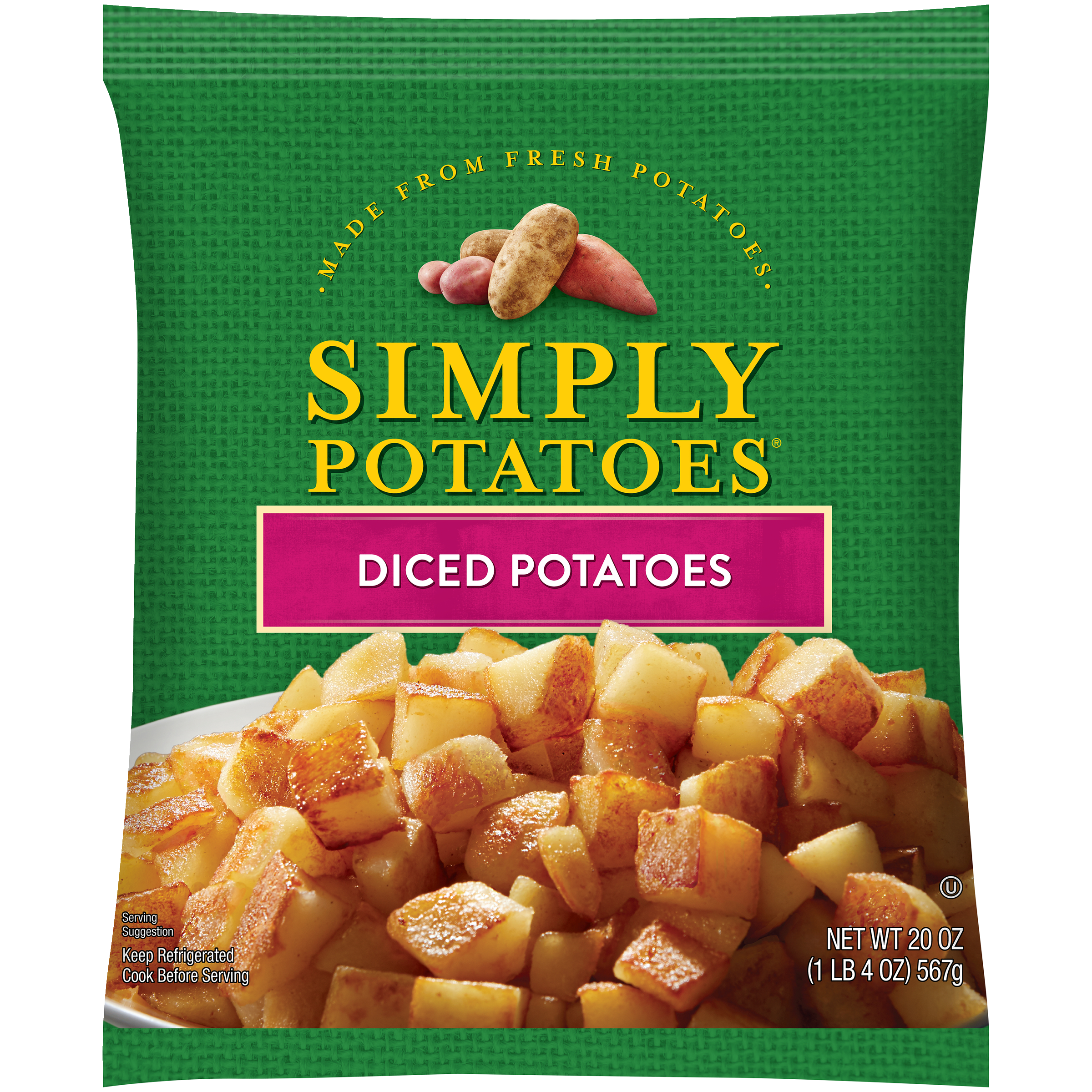 Simply Potatoes Diced Potatoes product image