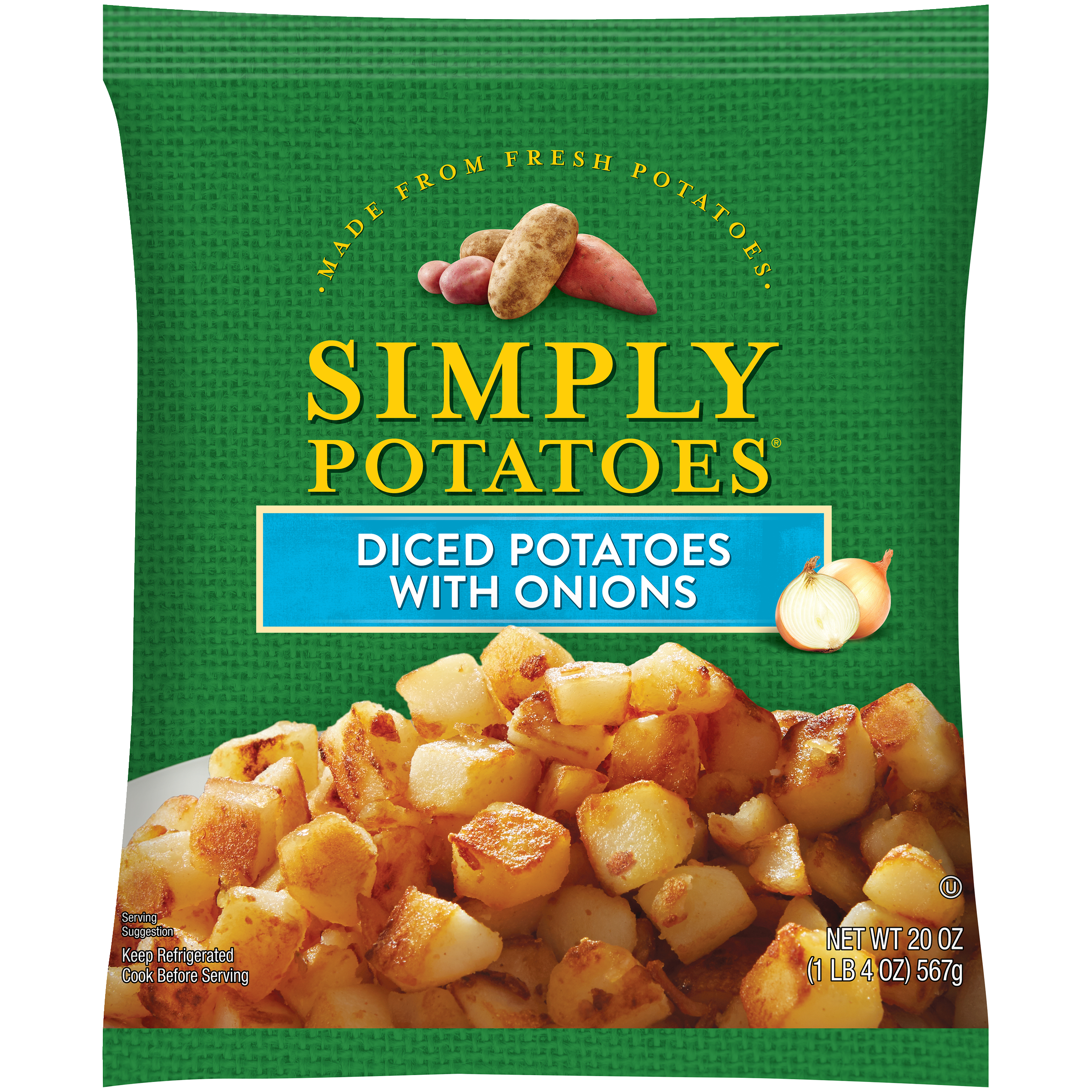 photo of Simply Potatoes Diced Potatoes with Onions product