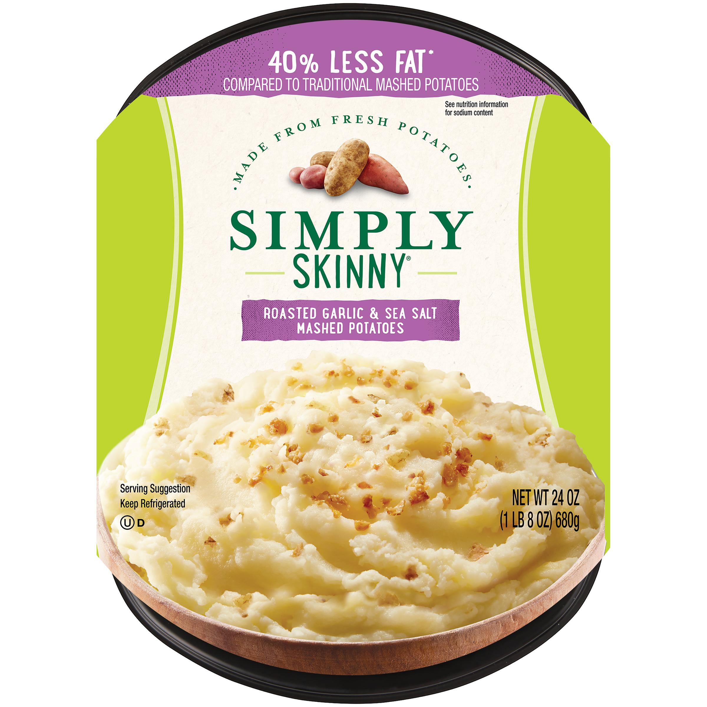 photo of Simply Skinny Roasted Garlic & Sea Salt Mashed Potatoes product