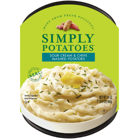 photo of Simply Potatoes Sour Cream & Chive Mashed Potatoes product