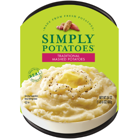 photo of Simply Potatoes Traditional Mashed Potatoes 24 oz. product